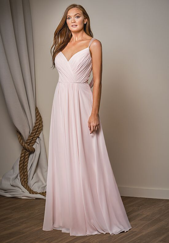 Belsoie L204004 V-Neck Bridesmaid Dress