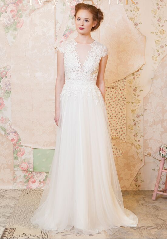 Ivy Aster Talia Wedding Dress The Knot