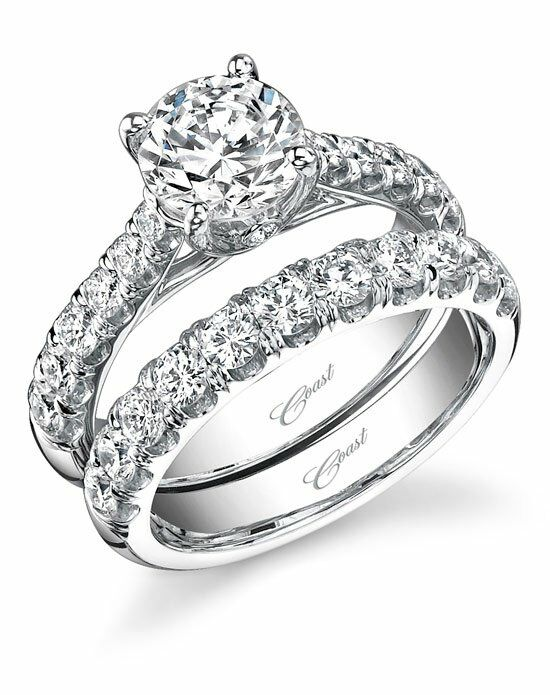 Coast Diamond Classic Cut Engagement Ring