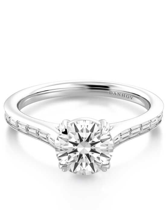 Danhov Classico_CL168 Engagement Ring photo