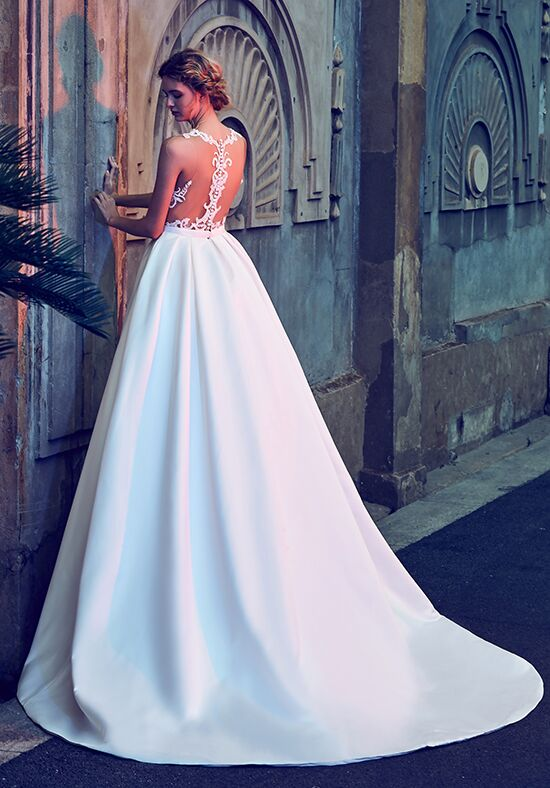 Calla Blanche LA8113 Nicole Ball Gown Wedding Dress