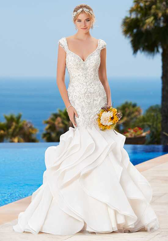 KITTYCHEN Couture CHARLIZE, K1749 Mermaid Wedding Dress