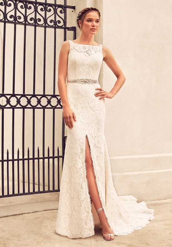 Paloma Blanca 4791 Sheath Wedding Dress