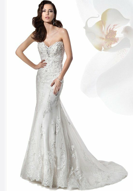 Demetrios 1455 Mermaid Wedding Dress