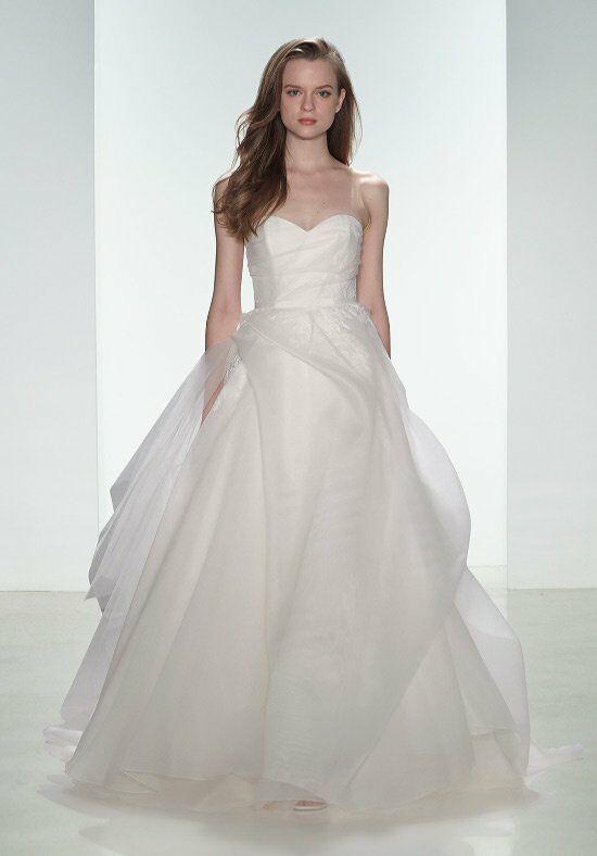Nouvelle amsale erin wedding dress the knot for Amsale wedding dress price