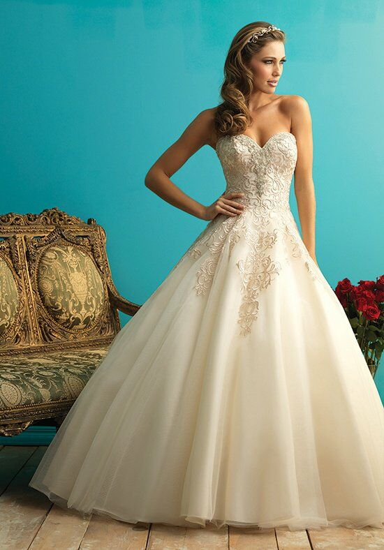 Allure Bridals 9270 Ball Gown Wedding Dress