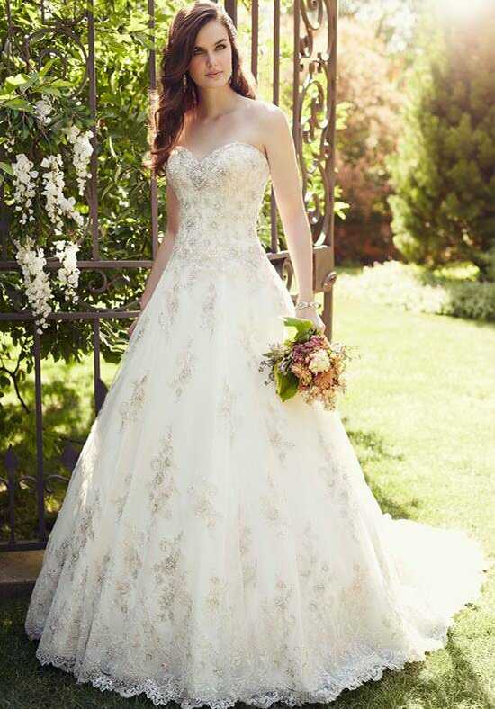 Essense of Australia D1757 A-Line Wedding Dress