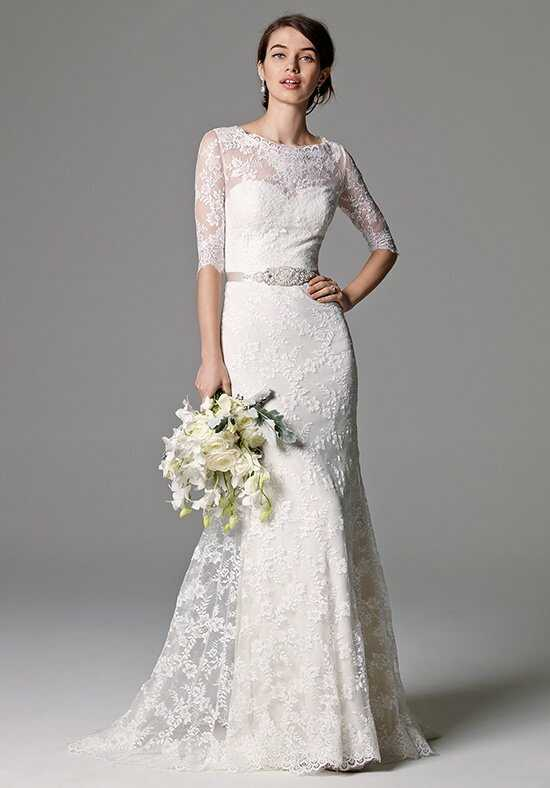 Watters Brides Riviera 8017B Sheath Wedding Dress