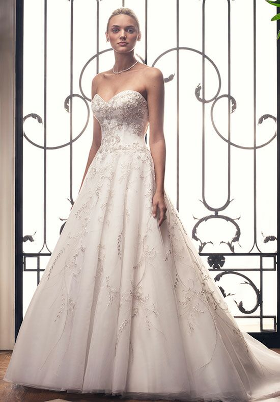 Casablanca Bridal 2212 A-Line Wedding Dress
