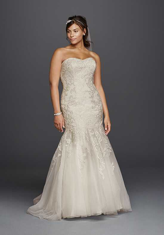 David's Bridal Jewel Style 9WG3800 Wedding Dress photo
