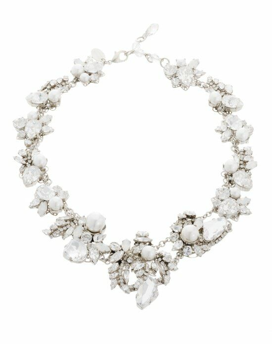 Thomas Laine White Wedding Necklace Wedding Necklaces photo