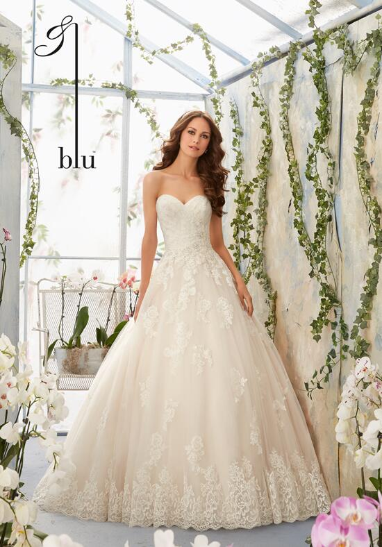 Blu by Madeline Gardner 5406 Wedding Dress photo