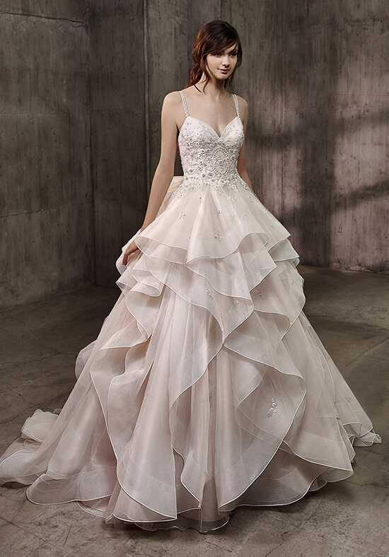 Badgley Mischka Belle Allison A-Line Wedding Dress