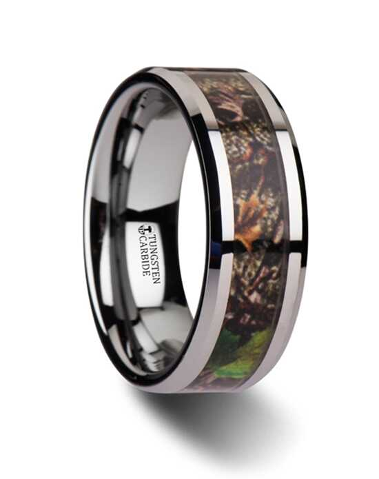 Mens Tungsten Wedding Bands W3082-BCPC Tungsten Wedding Ring