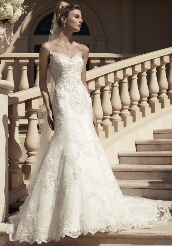 Casablanca Bridal 2117 Mermaid Wedding Dress
