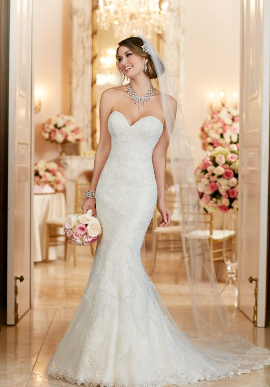 Stella York 6286 Mermaid Wedding Dress
