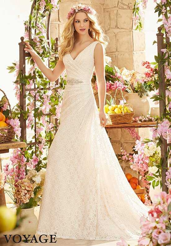 Morilee by Madeline Gardner/Voyage 6806 A-Line Wedding Dress