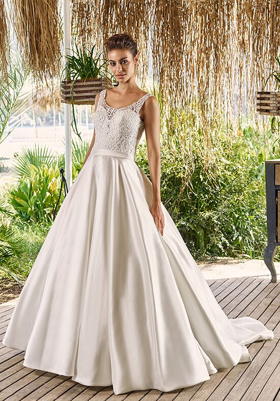 Eddy K Melia A-Line Wedding Dress