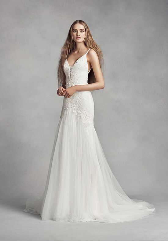 White by vera wang wedding dresses for Vera wang style wedding dress