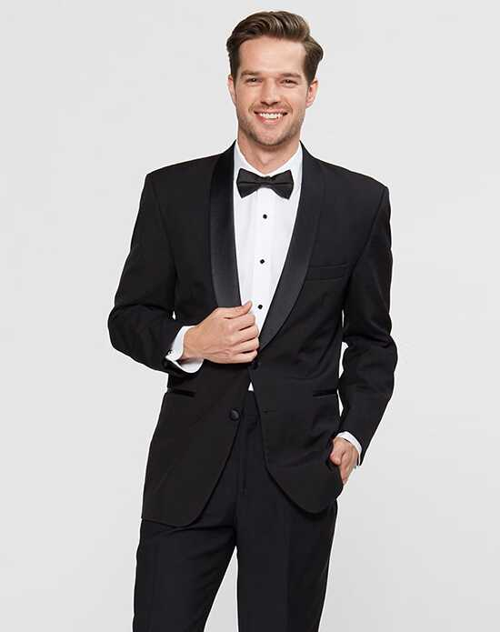 Wedding Tuxedos + Suits with Three Buttons