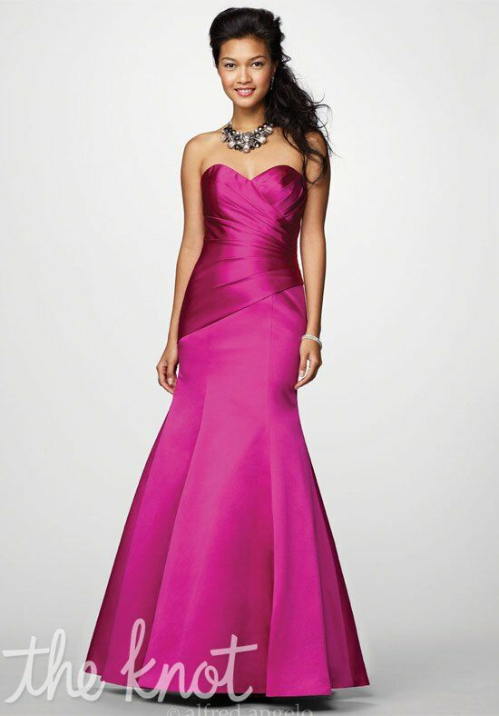 Alfred Angelo Signature Bridesmaids Collection 7168 Sweetheart Bridesmaid Dress