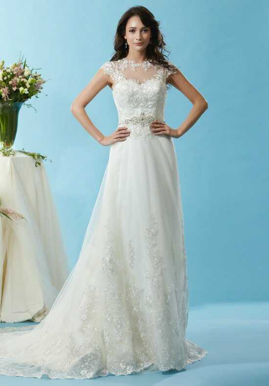 Eden Bridals BL126 A-Line Wedding Dress