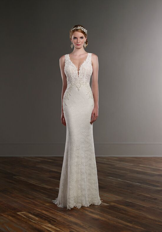 Martina Liana 765 Sheath Wedding Dress