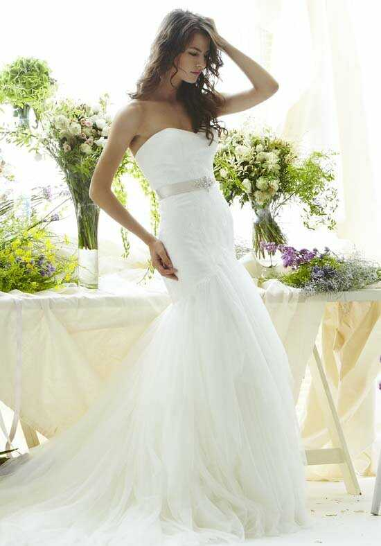 Saison Blanche Couture 4259 Mermaid Wedding Dress