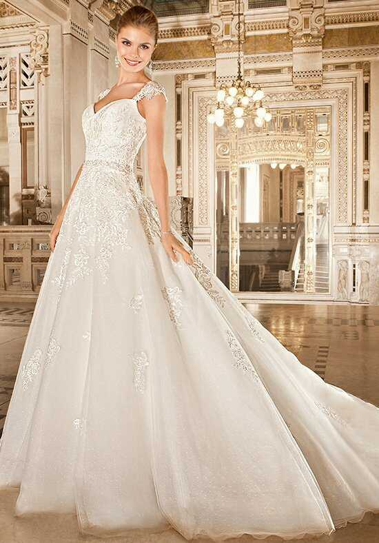 Demetrios 1485 A-Line Wedding Dress