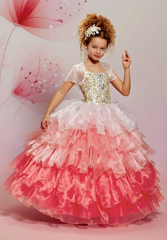 Cupids by Mary's F499 White Flower Girl Dress