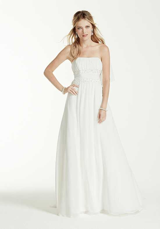 David's Bridal David's Bridal Collection Style V9743 A-Line Wedding Dress