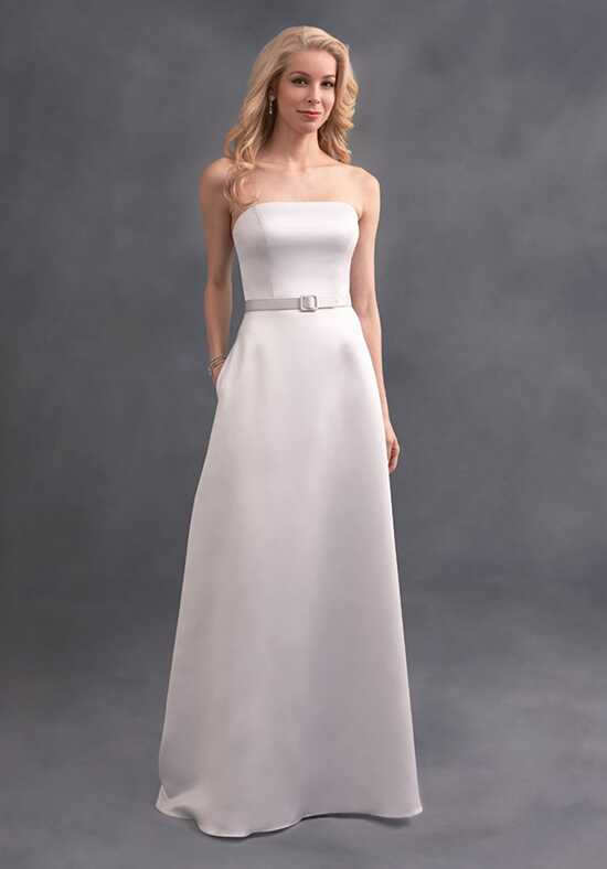 Alfred Angelo Signature Bridesmaids Collection 7389L Strapless Bridesmaid Dress