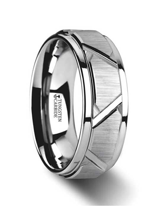 mens tungsten wedding bands - Wedding Ring Photos