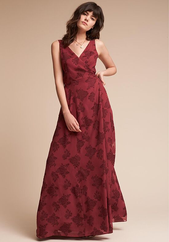 BHLDN (Bridesmaids) Whitby V-Neck Bridesmaid Dress