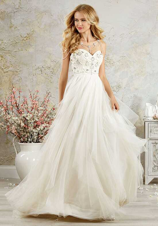 Alfred Angelo Modern Vintage Bridal Collection 5000 A-Line Wedding Dress