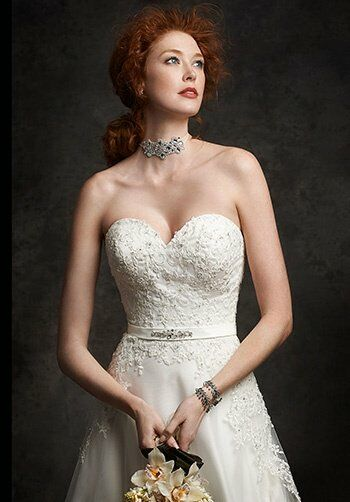 Ella Rosa: Gallery GA2238 A-Line Wedding Dress