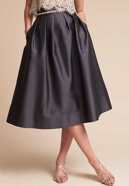 BHLDN (Mother of the Bride) Rockport Skirt Gray Mother Of The Bride Dress