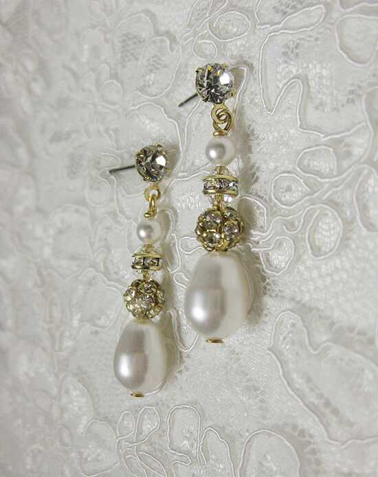 Everything Angelic Grace Earrings - e244 Gold Wedding Earring photo
