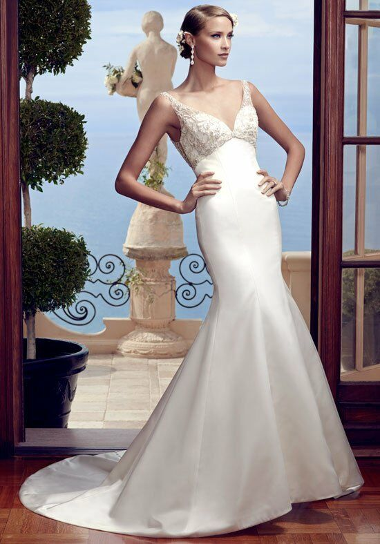 Casablanca Bridal 2193 Mermaid Wedding Dress