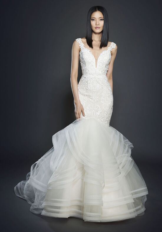 Lazaro 3713 Mermaid Wedding Dress