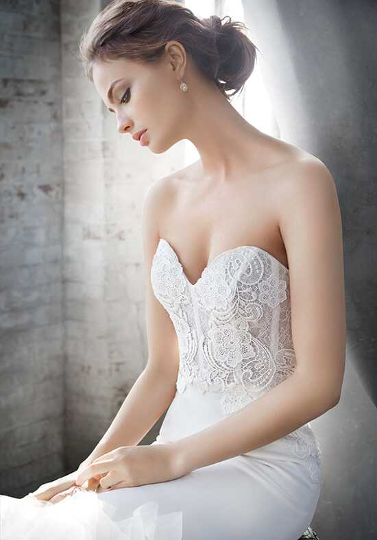 Lazaro 3610 Mermaid Wedding Dress