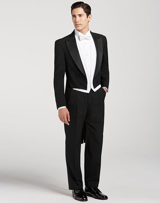 Men's Wearhouse Full Dress Tails Tuxedo Black Tuxedo
