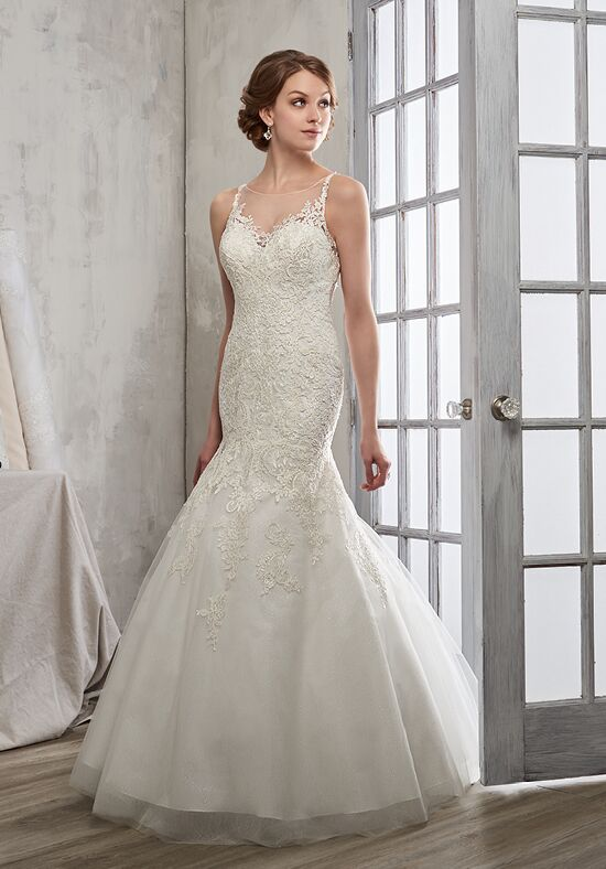 1 Wedding by Mary's Bridal 6603 Mermaid Wedding Dress