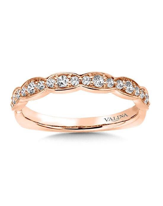 Valina RS9837BP Rose Gold Wedding Ring