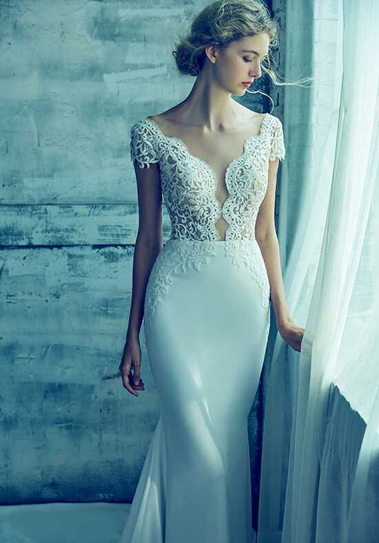 Calla Blanche LA8103 Kyla Sheath Wedding Dress