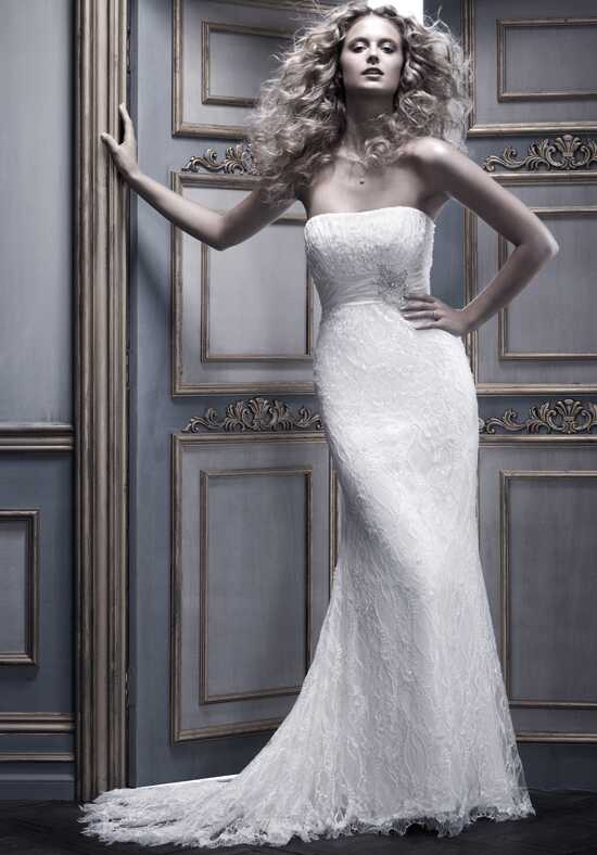 Amaré Couture by Crystal Richard B058 Sheath Wedding Dress