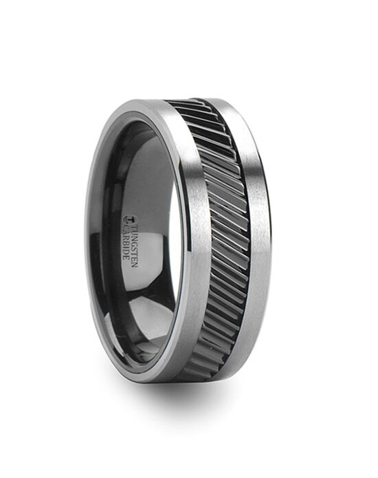 Mens Tungsten Wedding Bands W626-CGTC Tungsten Wedding Ring