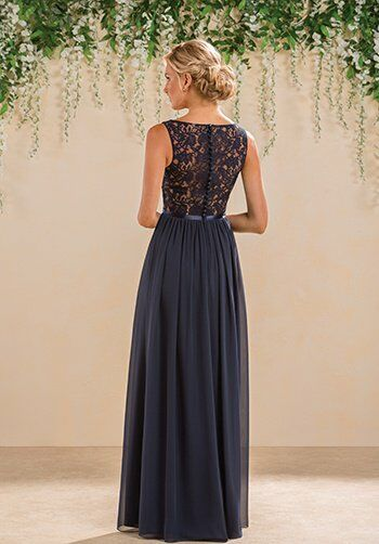 B2 by Jasmine B183014 V-Neck Bridesmaid Dress