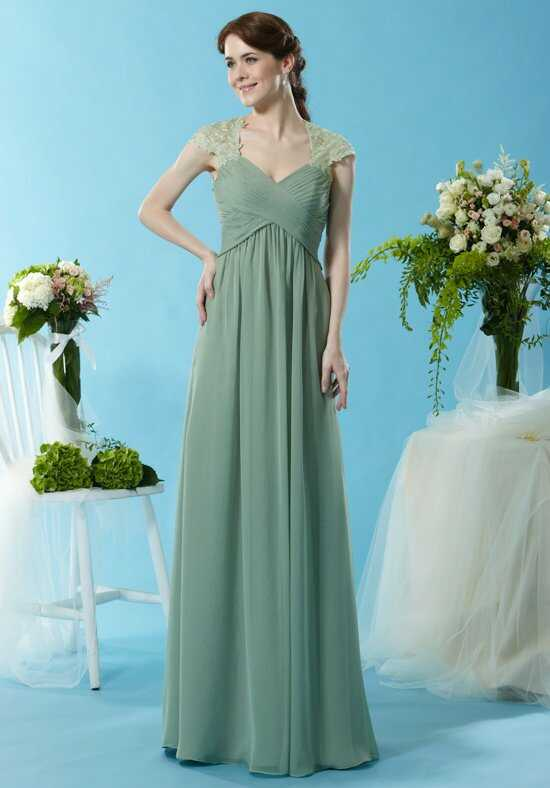 Eden Bridesmaids 7445 V-Neck Bridesmaid Dress