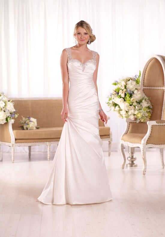 Essense of Australia D2071 Sheath Wedding Dress